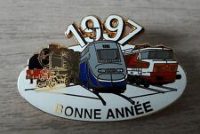 PIN'S COLLECTION TGV BONNE ANNEE 1997