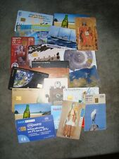 Job lot of Greek phone cards,