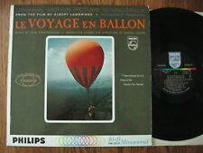 Le voyage en ballon LP 1960s Original movie soundtrack EX mono Philips 200-029