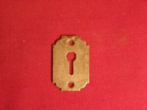 Vintage Antique Lock Escutcheon Key Hole Cover Door Hardware