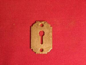 Vintage Antique Lock Escutcheon Key Hole Cover Door Hardware