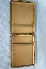 Vintage Brown Leather Cigarette Case German Made