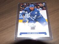17/18 UD TORONTO MAPLE LEAFS CENTENNIAL RECORD HOLDERS GARY ROBERTS #140
