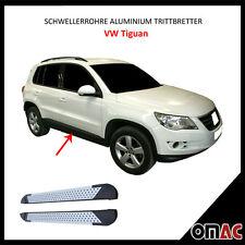 Schwellerrohre Aluminium Trittbretter für VW Tiguan 2007-2016 Almond (173)