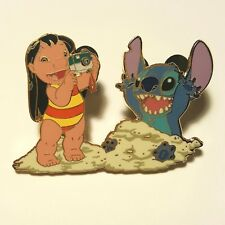 Disney Lilo & Stitch in the Sand Limited Edition Retired Pin 12815