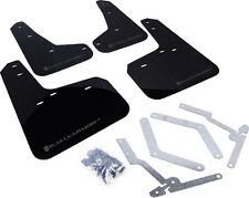 Rally Armor UR Mud Flaps Black w/ Grey 13+ Focus ST & 16 Focus RS MF27-UR-BLK/GR