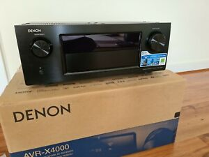 Denon X4000 7-Channel Receiver - Near New Condition.!