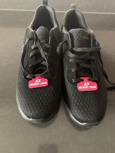 skechers Memory Foam Black Shoes Size 9.5