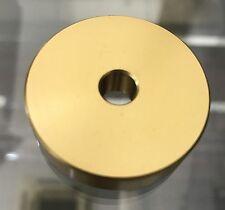 Technics SL 1200/1210 MK2/MK5/M3G/M5G LTD GLD Adaptors 45 RPM Genuine - GOLDEN