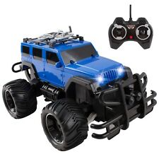 RC Truck Jeep 1:16 Remote Control Car With LED Headlights Rechargeable 638A