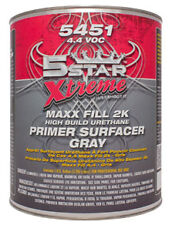 5 Star 2K High Build Urethane GRAY Primer w/Activator Gallon Kit