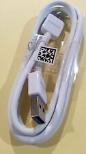 New Original Samsung Galaxy Note3 S5 USB3.0 Data Sync Charger Cable White 5ft D2