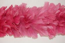 """TURKEY BOA - ROSE 2 Yards 6-8"""" Feathers Costumes"""