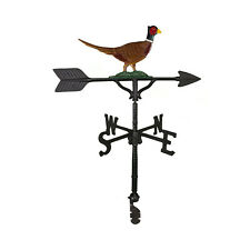 """32"""" Roof Mount Weathervane PHEASANT Arrow Directionals New 4 Finishes"""