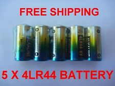 5 x 4LR44 4AG13 L1325 A28 6V Alkaline battery, Anti-Bark Dog Collar Batteries