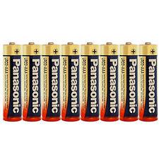 8 x AAA Alkaline Power # PANASONIC # LR03 Micro LR3 - BATTERIEN * Size S