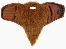 Neff Brown Bearded Snowboarding Ski Mask Gaiter Bib