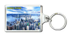 HONG KONG SKYSCRAPERS MOD3 KEYRING SOUVENIR LLAVERO