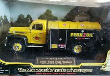 golden wheels pennzoil 1951 ford fuel tanker 1/25th new in box from 2003