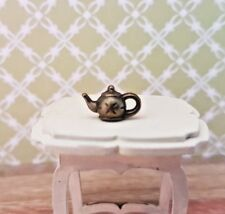 TEAPOT tiny metal 1:48th scale dolls house kitchen UK SELLER