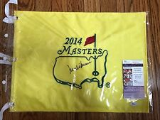 Mark O'Meara- Signed 2014 MASTERS FLAG- JSA- Augusta Official Flag- Auto- Signed