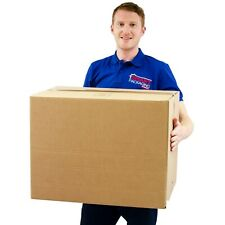 10 Extra Large Cardboard Packing Moving Boxes Double Strength Popular Choice