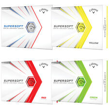 2021 Callaway Supersoft Long Distance Golf Balls New Select Colour & Quantity