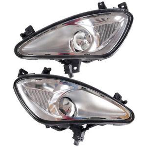 Pair Front Bumper Fog Light Lamp Fit For 2007-09 Mercedes W221 S300/350/550/600