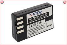 Battery D LI109 For Pentax Kr K30 K 30 K 50 K 500 High Quality Cells Brand New