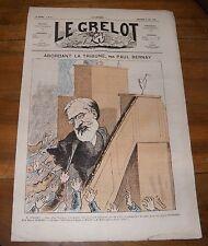 Le Grelot Journal Satirique N°111 Abordant la Tribune par Paul Bernay Mai 1873