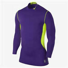 NWT NEW Nike Men's Dri-Fit Max HyperWarm Fitted Mock Shirt Size LARGE 479925 $60