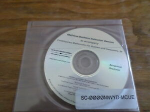 Mathcue Business Instructor Version - Brand New Software - Free Domestic Ship