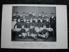 Rare Original Famous Footballers, #073 Hull Football Club Team Rugby 1895 - 96