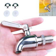 Stainless Steel Beverage Drink Water Dispenser Wine Barrel Spigot/Faucet/Tap VK