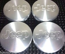 4 pcs, Jeep, Wheel Center, Hub Cap, Chrome,  56mm, Commander, Liberty, Patriot,