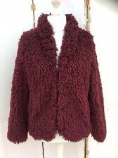 Lovely Next Shaggy Faux Fur Jacket/Coat - BNWT