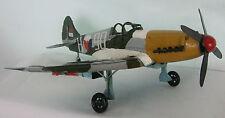 Tin Plate Model of a Dutch Spitfire Plane / Multi Colours /Ornament /Gift