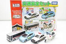 Takara Tomy Tomica Koutsu Anzen Traffic 4X Set Toys Car Diecast JAPAN with MAP
