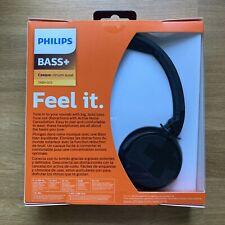 Philips BASS+ BH305 Wireless On-Ear Headphones Black