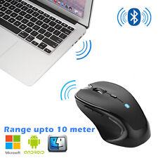 Bluetooth3.0 Wireless Optical Mouse Mini Mice For PC Mac Laptop Computer 2400DPI