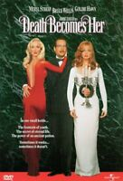 Death Becomes Her (DVD 1998) Bruce Willis Goldie Hawn NEW