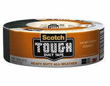 Scotch Tough Heavy Duty All-Weather Duct Tape, 1.88 in. x 45 yd., Gray