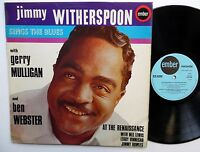 JIMMY WITHERSPOON Sings The Blues LP w/ GERRY MULLIGAN England Press