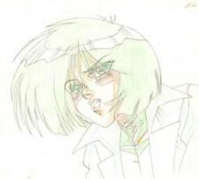 Anime Genga not Cel Battle Angel / Gunnm (handdrawn by YUTAKA MINOWA) #7
