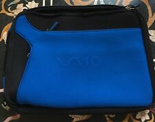 BLUE SONY Soft Sleeve Case Accessory Bag Pouch for iPad Or Tablets
