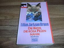 Lilian Jackson Braun -- KATZE, die ROSA PILLEN NAHM // ein Fall für Kater Koko