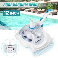 """12"""" Swimming  Pool Vacuum Suction Tank Head Cleaning Brush Pool Cleaner"""