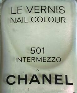 Chanel nail polish 501 intermezzo rare limited edition 2009
