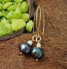 Natürliche echte Perlen-Ohrschmuck Hakenverschluss
