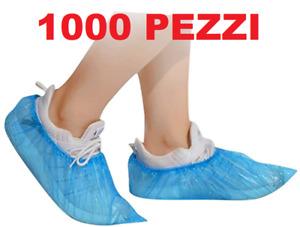 1000 pezzi Copriscarpe Calzari Copriscarpa Coprire le scarpe Monouso usa e getta